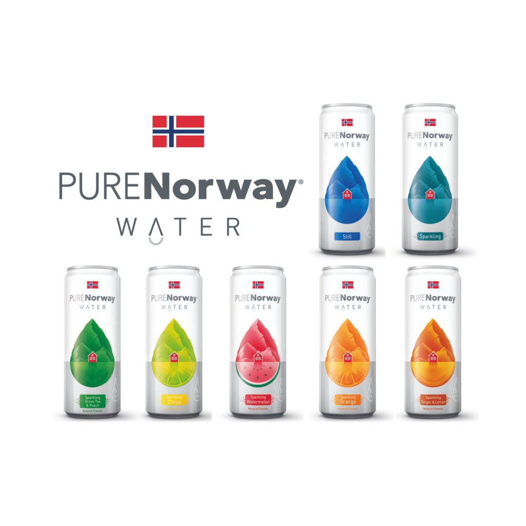 MDR Brand Management launches ethical water brand with PURENorway