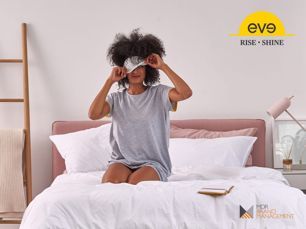 MDR Brand Management announces the launch of a new CBD range with eve sleep